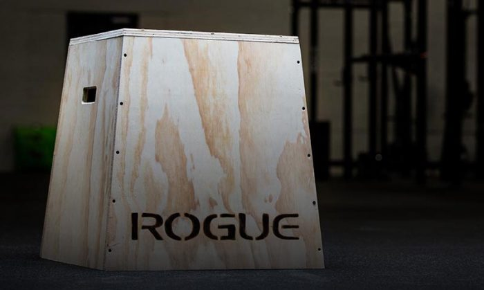 Rogue Plyo box with black background