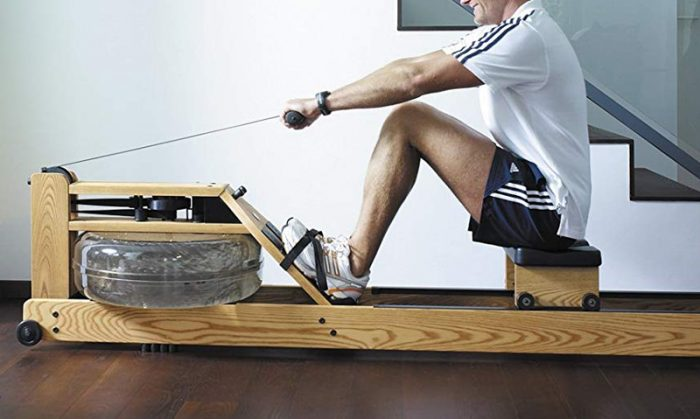 Wood Rowing machine