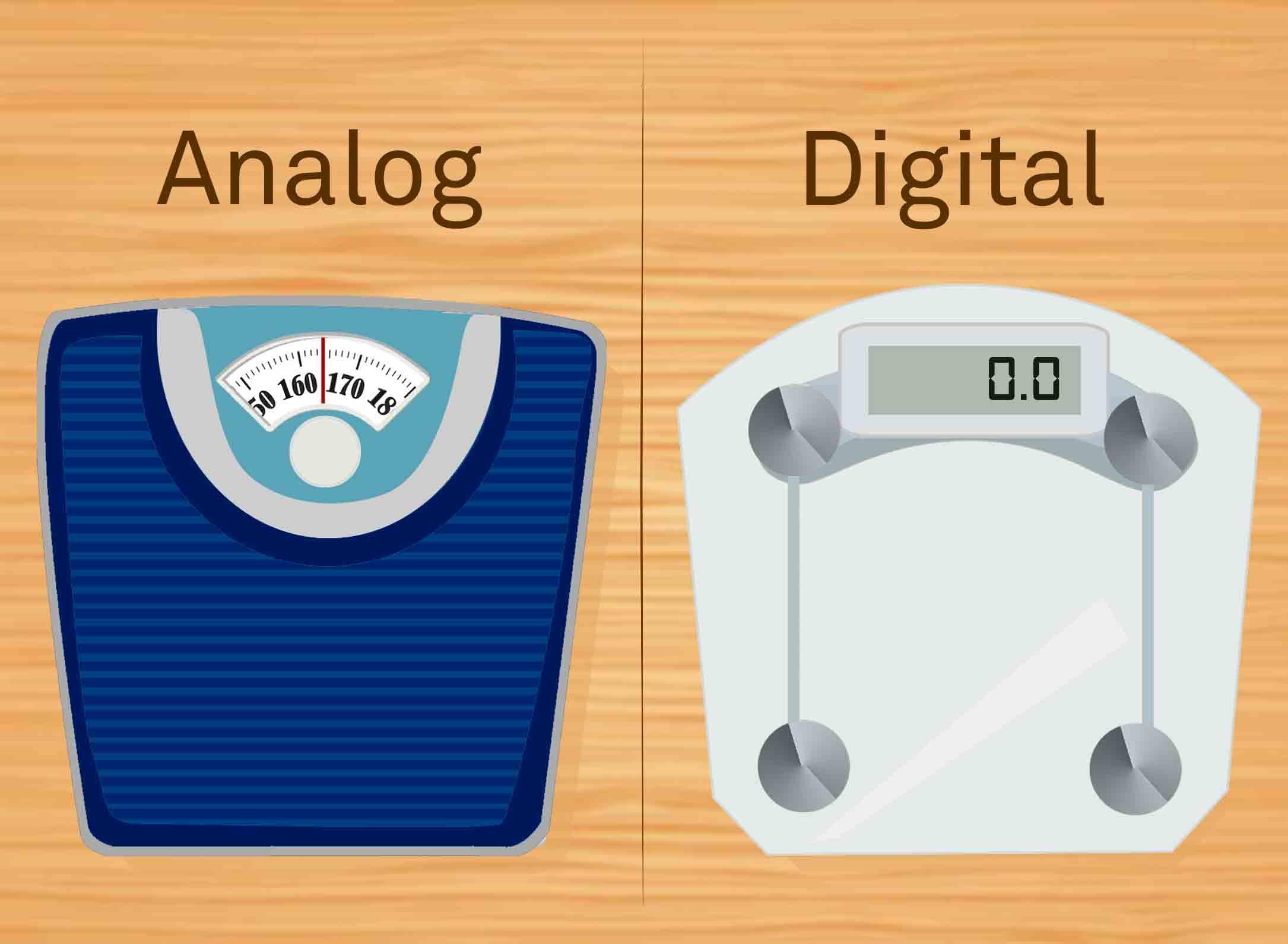 <p><b>Analog vs. Digital</b></p>