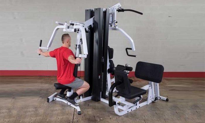 White home-gym machine