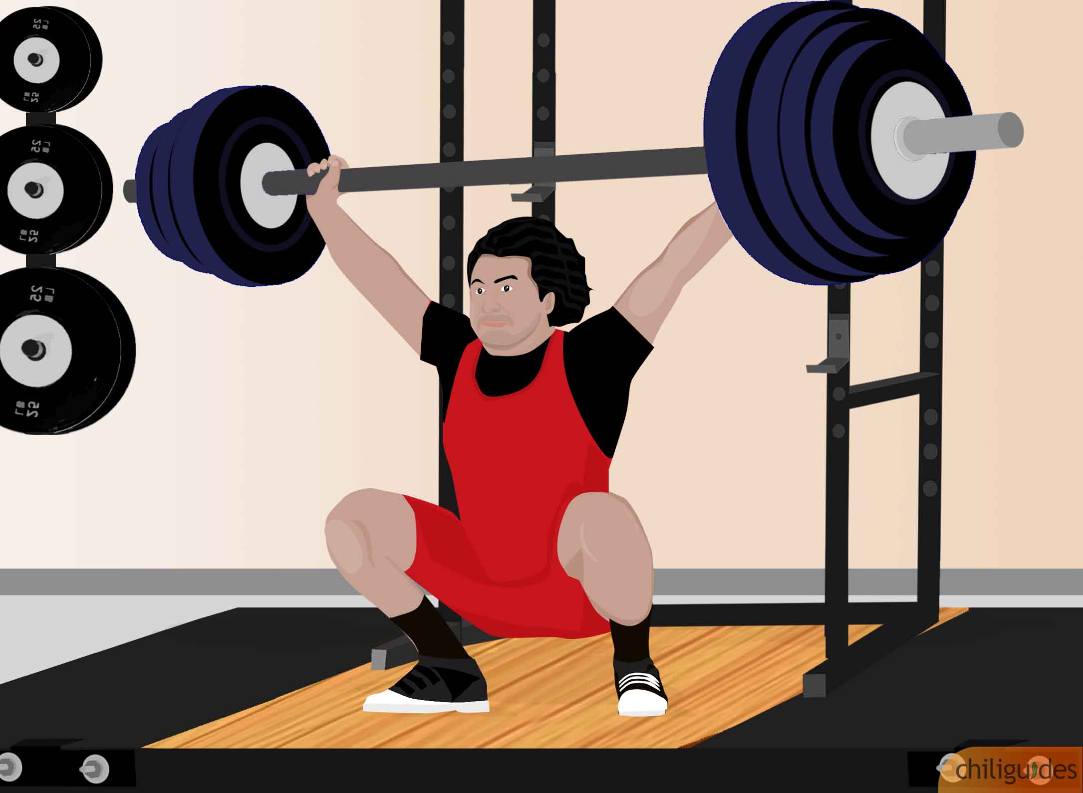 <p><b>Get a barbell with bearings instead of bushings for weightlifting.</b></p>