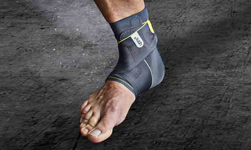 Ankle brace for injury prevention at gym