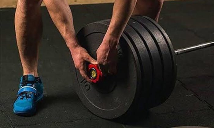 Barbell collars for deadlifts