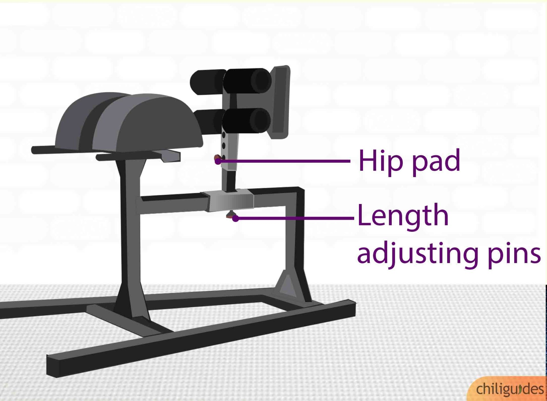 Adjustability is the key to comfort.