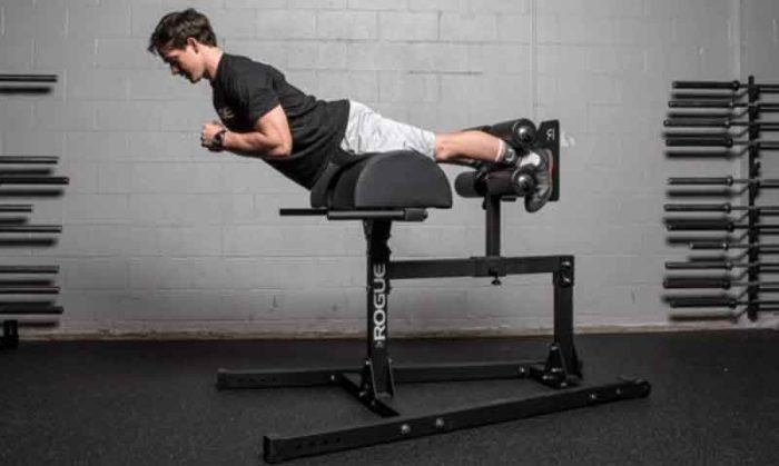 Glute ham developer exercise for definition and strength