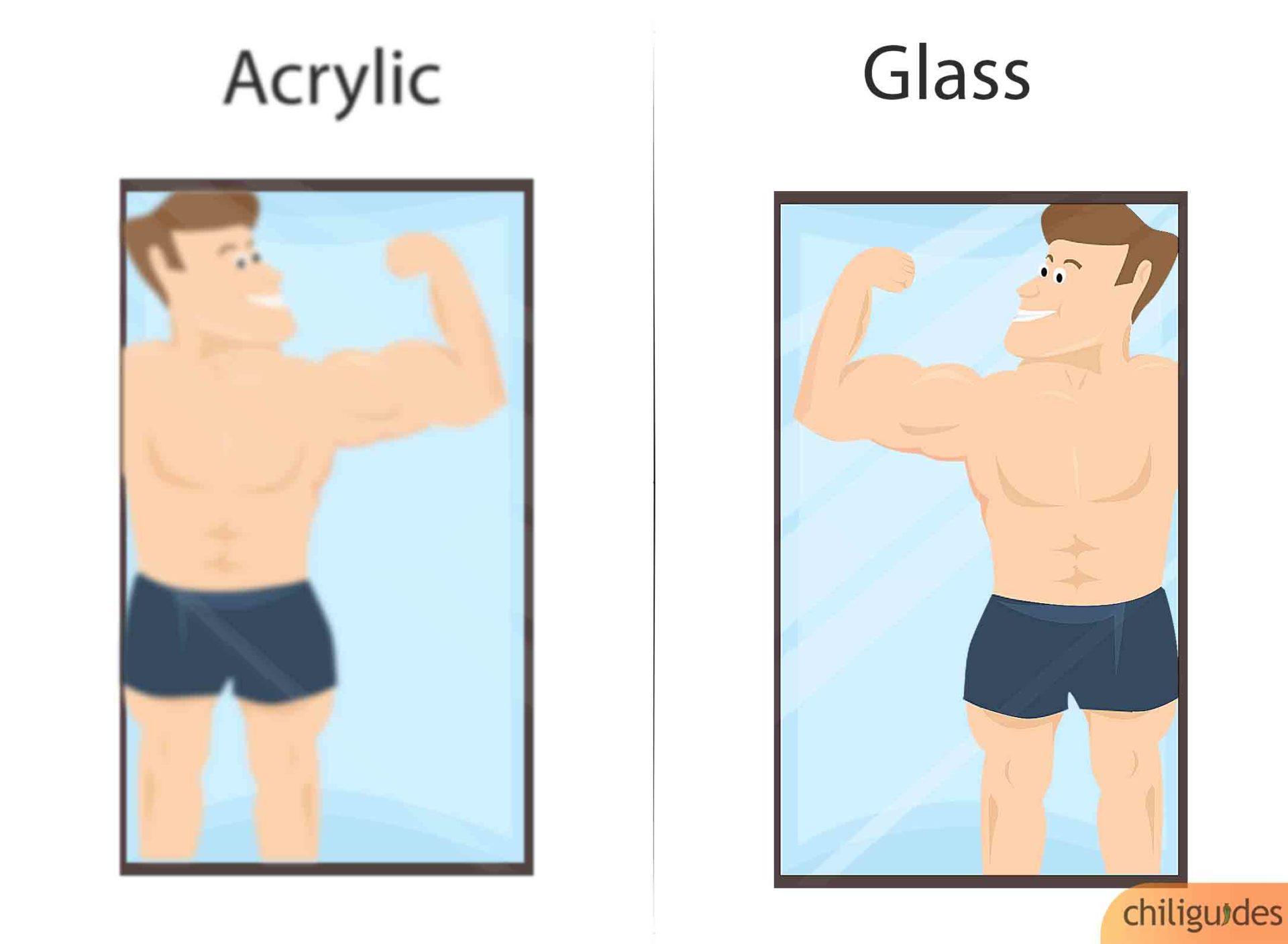 Glass vs. Acrylic