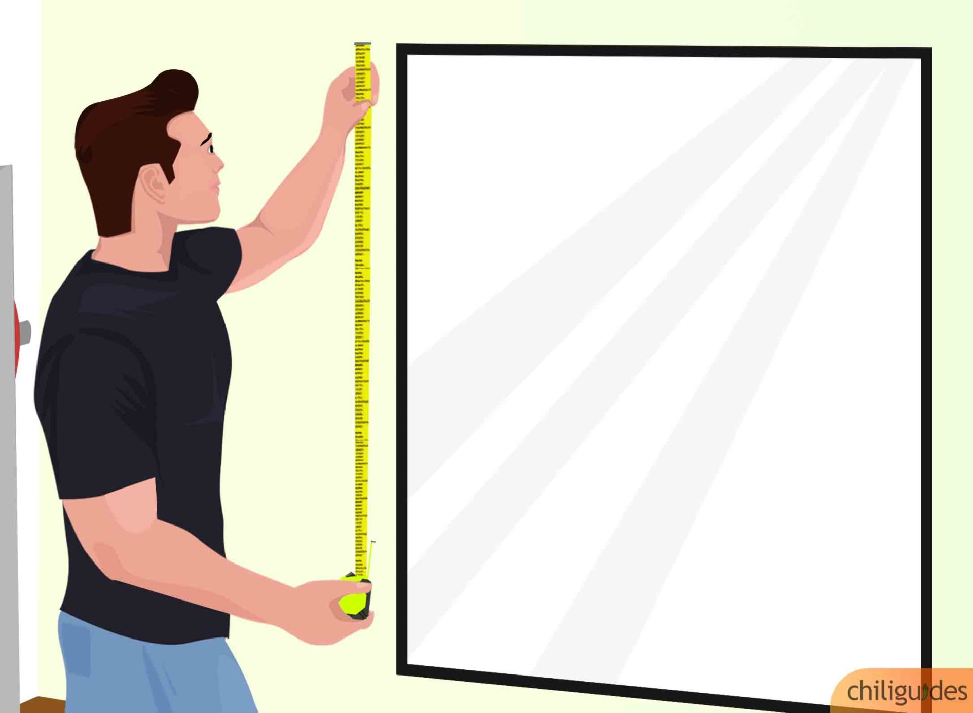 Determine the size and number of mirrors you require.