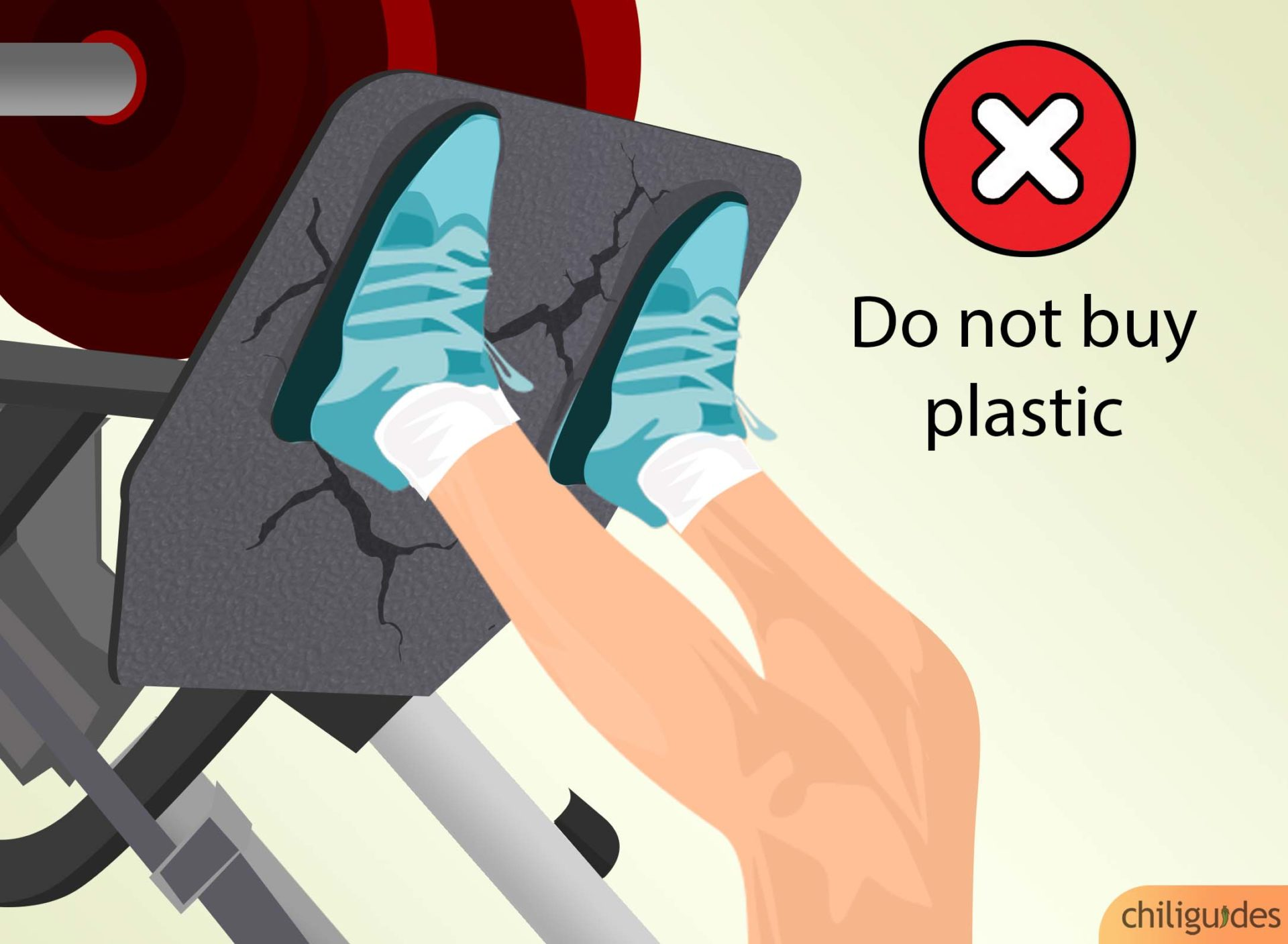 Don't buy anything plastic.