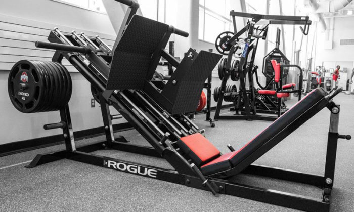 Rogue Leg press angled