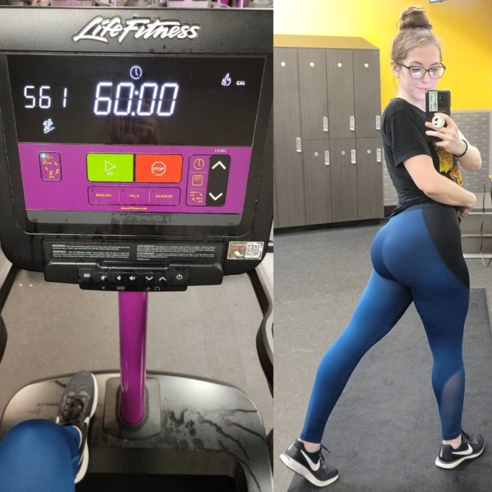 Brittany Stairmaster Weight loss