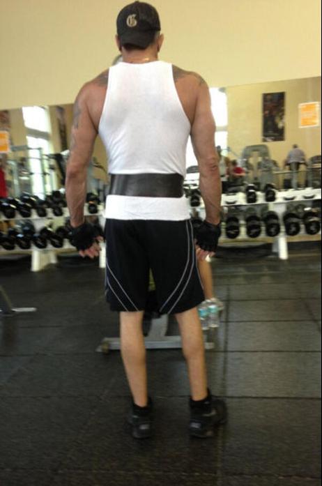 Chicken legs stairmaster gym bro